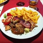 A true mixed grill!