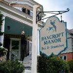 Bancroft Manor Bed and Breakfast Foto