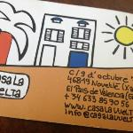 Casa La Vuelta Business Card
