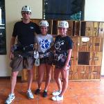  Spectacular zip lining at nearby Sky trek.