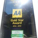 AA 4 Gold Star Award