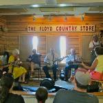 A little Sunday afternoon get together at the Floyd Country Store