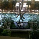 The pool at the Borgata