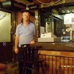 KEVIN THE HOTELIER IN THEIR HOTEL PUB