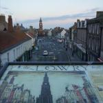  town walls walk-lots of Lowry scenes to spot!