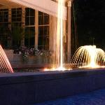 Musical fountains in Kurpark