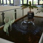 Water feature in dining / breakfast room