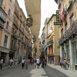 Hostal Centro sits on a charming street