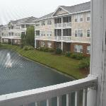 Small Ponds by Condos, Balcony View