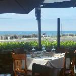 Lunch view at Vigilucci's in Carlsbad