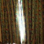 curtains from our room no 109