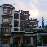  Front Elevation of Hotel Alpine Villa