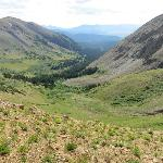  View beyond Black Powder Pass