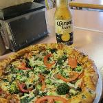 Great Pizza and Cold Beer
