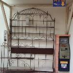 Phone card vending and ATM on site