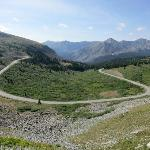 View east from Cottonwood Pass