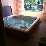  jacuzzi, temprature 35...