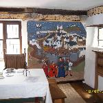 Decoration on Walls in Upper Room