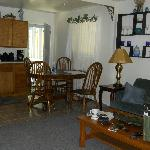  Kitchen/Dining/Living Room Area in Cottage
