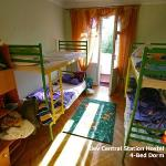 4 Beds Dorm (2 rooms with Balcony)