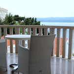  Balkon auf der 2. Etage mit Blick aufs Meer