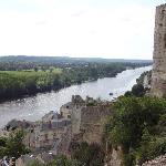 The Loire form Chinon castle