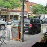  Apple Annie&#39;s Cafe - Street View from our window seat