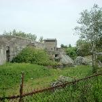  Some ruins and gun emplacements at the fort.