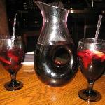 Pitcher of house sangria