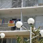 Balcony indicates how wide is the room, apartment has 2 balconies