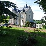  Front view of the chateau