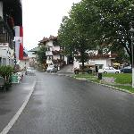 Main street of the lovely village of Ehrwald