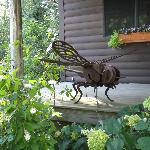  Dragonfly scuplture