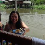  Food from a river boat vender
