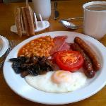  Full English Breakfast served in The Lounge Hotel