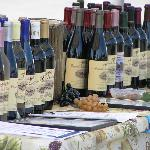Thousand Islands wines at local farmers' market