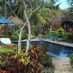  Segare Anak, Kuta, Lombok. Pool &amp; Garden