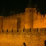 Carcassone at Night