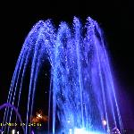 Fountain show near the beach