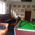 the games room we took over ;)