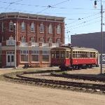  Hotel Selkirk with streetcar.