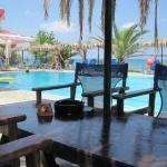  Pool-Beach Bar Caretta, offers free umbrellas and sunbeds