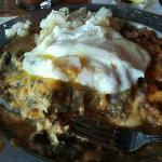 Green Chili Pork Breakfast Enchiladas