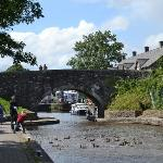 One minutes walk to Brecon Canal & Towpath