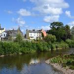  Brecon Town on the banks of the River Usk