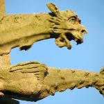 Gargoyles on church Senlis