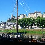  citadelle de chinon, juste a cot