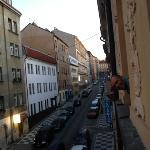  hello Prague! taking in the surroundings from our room :)