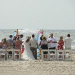 Casa beach wedding