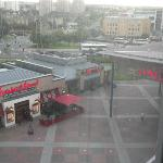 view from hotel showing Frankie & Benny's